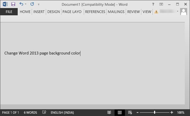 How To Change Page Background Color In Word 20162013