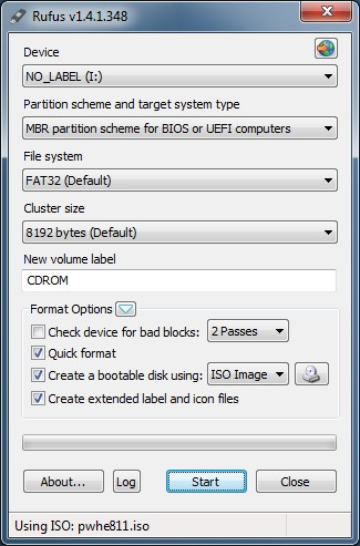 Create partition wizard bootable USB drive picture2