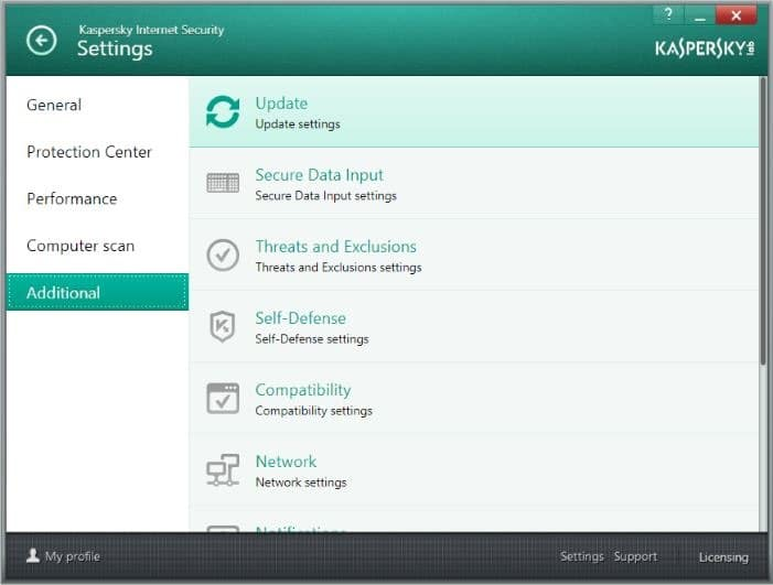 Fix Kaspersky isn't updating picture