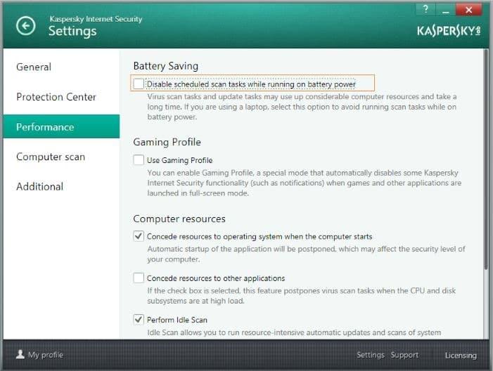 Fix Kaspersky isn't updating