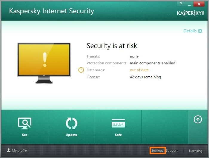 Kaspersky antivirus not updating pagdating ng panahon english translation