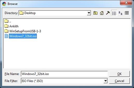 Install Windows 7 USB Flash Or Hard Drive Step1