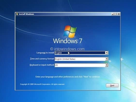 how to make windows 7 boot from usb