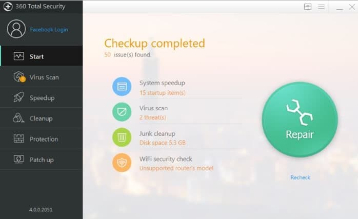 360 total security review and free download picture2