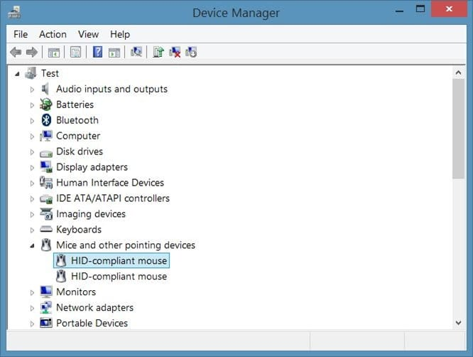 Disable touchpad in Windows step3