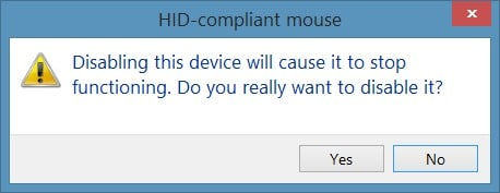 Disable touchpad in Windows step5