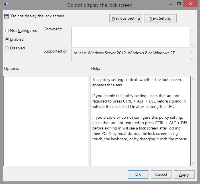 How To Remove Windows 8 1 Lock Screen Using Registry