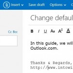 How To Change Default Font and Font Color In Outlook.Com