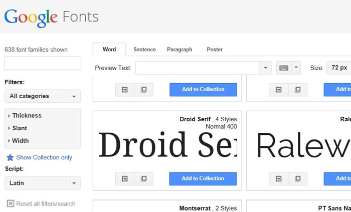 Use Google Fonts in Microsoft Office 2010 and 2013 step1