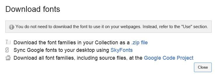 use google fonts in microsoft office 2010 and 2013 step3
