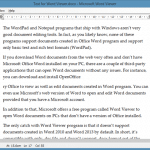 Microsoft Word Viewer: Open And View Word Documents Without Installing Office
