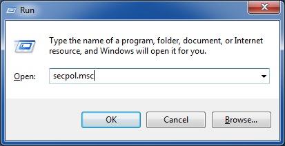 fix shut down button is missing from logon screen Windows 7 step1