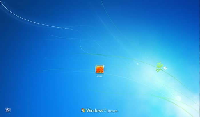 fix shut down button is missing from logon screen Windows 7
