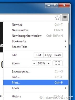 Save webpage as PDF in Chrome step22