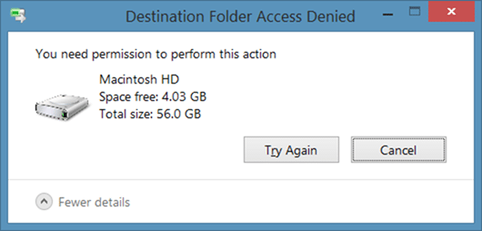 Write to HFS partition from Windows