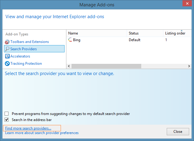 How to Change the Default Search Provider in Internet ...