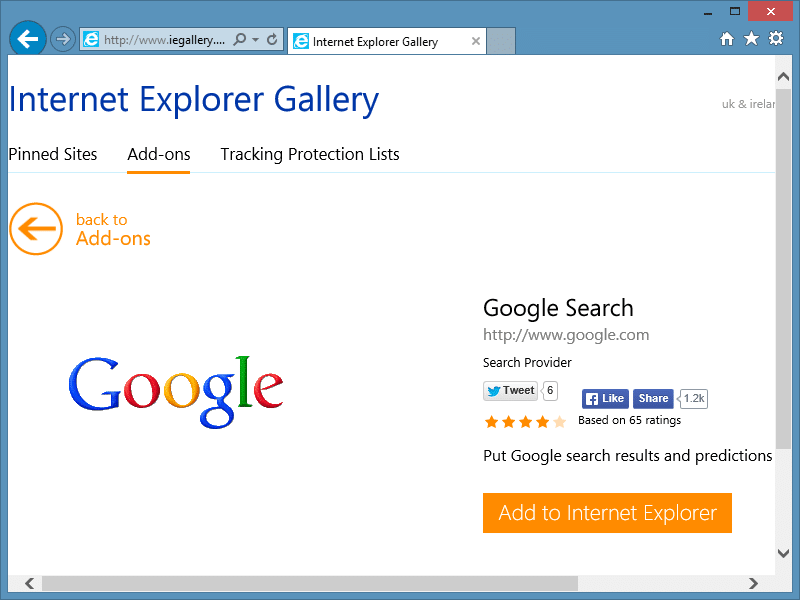 Remove bing from internet explorer and make Google your ...