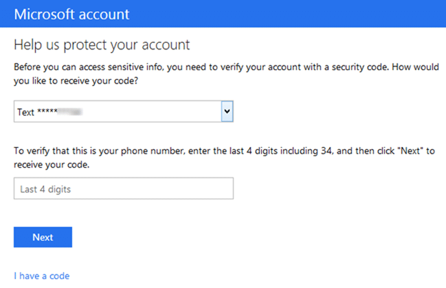 Close Microsoft outlook.com account step3