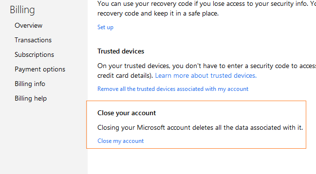 How To Close Outlook Com Email Account