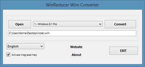 Convert Install.esd to install.wim using Wim Converter