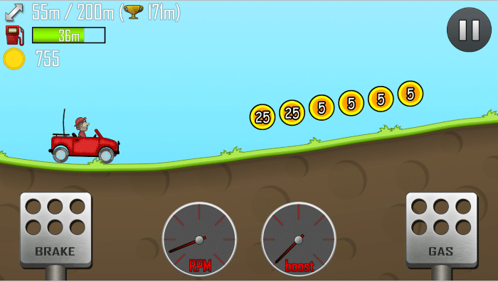 hill climb race  pc