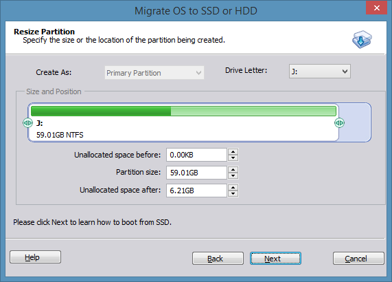 How To Migrate Windows 8 1 To SSD Using AOMEI Partition