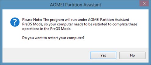 how to create partition using aomei partition assistant