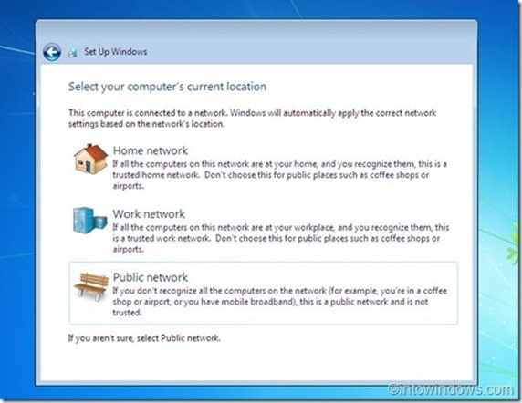 Reinstall Windows 7 without product key step14