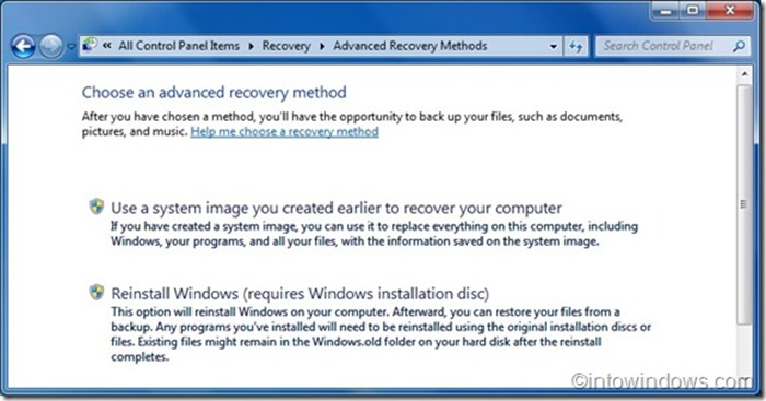 Reinstall Windows 7 without product key step4