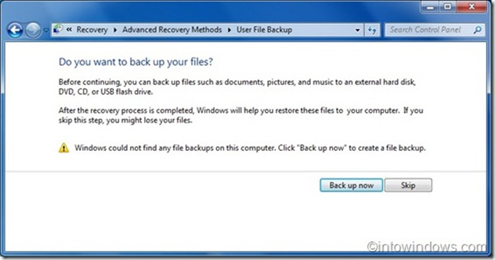 Reinstall Windows 7 without product key step6