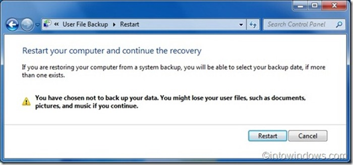 Reinstall Windows 7 without product key step7