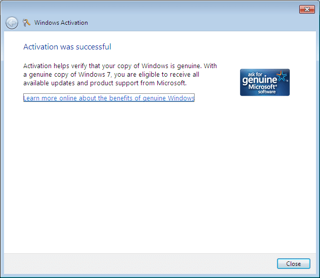 Reinstall Windows 7