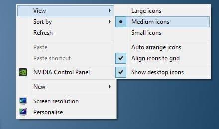 Awe Inspiring 3 Ways To Resize Desktop Icons In Windows 10 7 Interior Design Ideas Oteneahmetsinanyavuzinfo