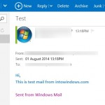 How To Disable Sent From Windows Mail Signature