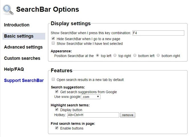 Add search box to chrome browser picture2