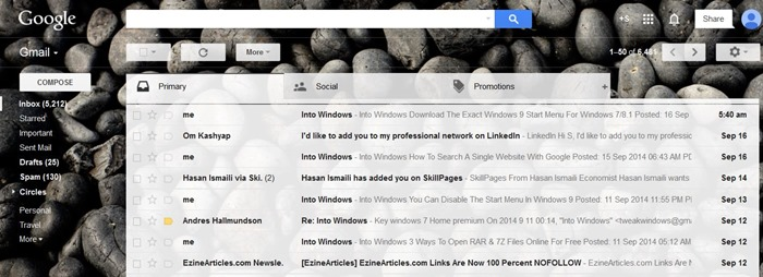 Disable tabs in Gmail (1)
