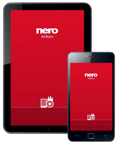 Nero AirBurn for android and iOS