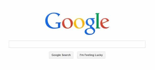 Open Google search results in new tab page