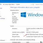 Update Windows Defender offline in Windows 10