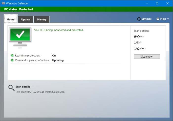 Bullbodouwebstweet windows defender in windows 8 download for Window defender update