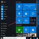 Pin Control Panel to Windows 10 Start menu