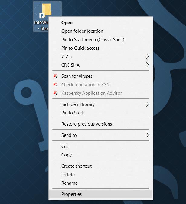 pin folders to taskbar in windows 10 step2.1