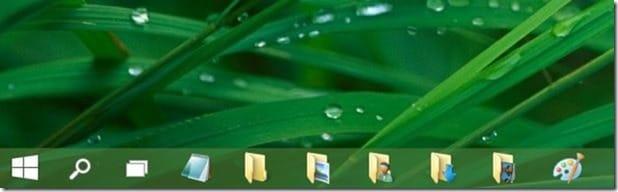 Pin folders to taskbar in Windows 10