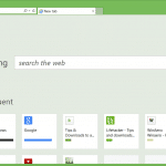How To Remove Bing Search From New Tab Page In IE11