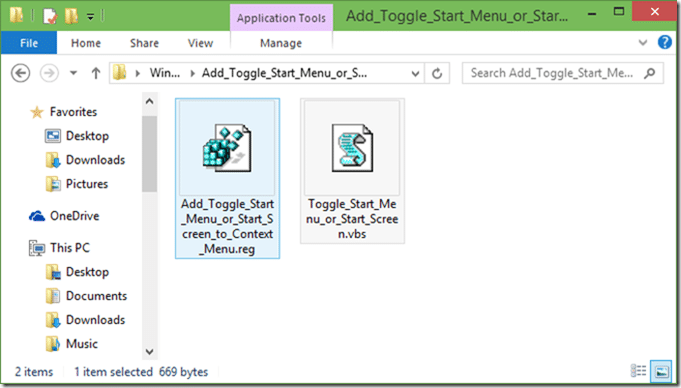 Toggle Start menu or start screen picture03