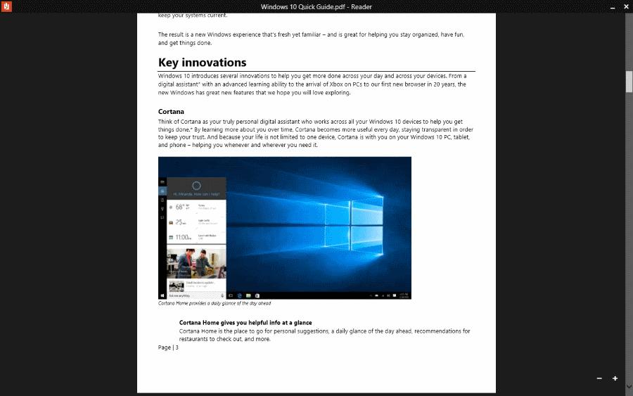 Windows 10 Quick Guide PDF
