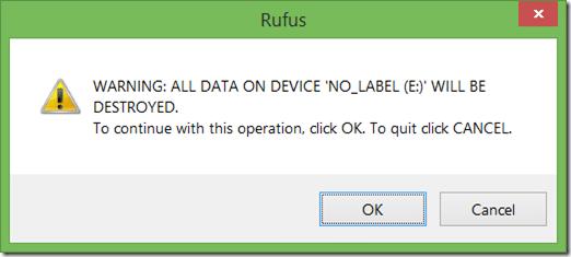Windows 10 UEFI bootable USB step2