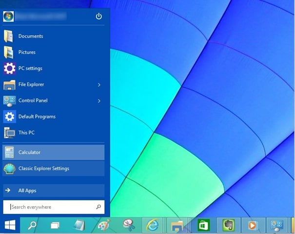 Меню Windows 7 для Windows 10 picture2