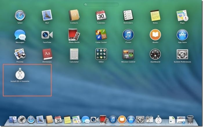 how to download yosemite to usb