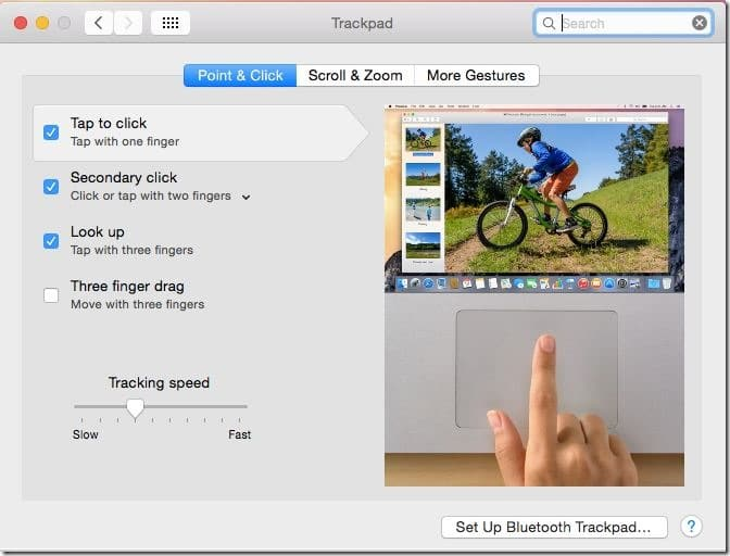 tap to click in Mac OS X picture3